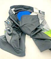 Pearl Izumi Men's Size XL Black Padded Cycling Bike Compression Shorts