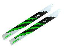 ZEAL ENERGY Carbon Fiber Main Blades 700mm Gr Trex 700, Gaui X7/NX7, Goblin 700