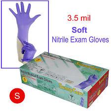 SunnyCare #8501 Soft 3.5mil Powder-free Nitrile Exam Gloves (Latex Vinyl Free) S