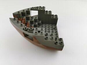 Lego® Piraten Boot Schiff Rumpf braun dunkelgrau Bug 6051c05 aus 6271 6268