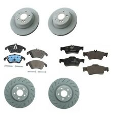 Mercedes Benz W212 E350 2013-14 Front and Rear Brake Rotors & Pads Kit Genuine