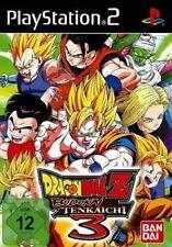 Ps2/Sony Playstation 2-Dragonball Z: Budokai Tenkaichi 3 allemand avec neuf dans sa boîte