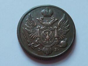 Pologne. Magnifique 3 grosze 1819.