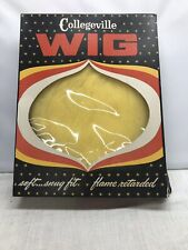 Collegeville Blonde Long Hair Wig Herculon 2000 W with Box