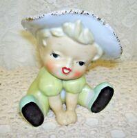Adorable Vintage Little Girl Headvase Marked Japan
