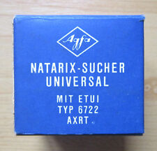 AGFA Natarix-Sucher Typ 6722 AXRT Universal Made in Germany Viewfinder Box OVP