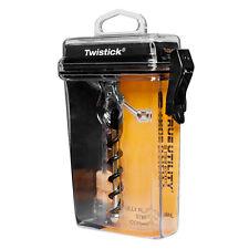 True Utility Twiststick Twist Stick Corkscrew Wine Bottle Opener Portable EDC