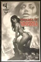 VENGEANCE OF VAMPIRELLA #4 LUCIO PARRILLO BLACK WHITE VARIANT NM RARE