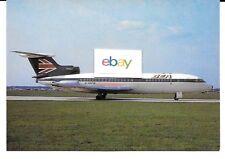 BEA BRITISH EUROPEAN AIRWAYS HAWKER SIDDELEY TRIDENT 1C #G-ARPW 1960'S POSTCARD