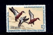 US #RW38 =  Mint-Never Hinged Federal Duck Stamp...Always Free Shipping in USA!