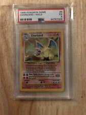 Pokemon 1999 Charizard Holo PSA 5 EX Base Set TCG MINT Regrade