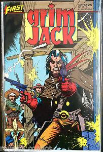 Grim Jack (Vol 1) #10 VF 1st Print Free UK P&P First Comics