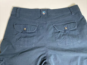 Kuhl Cargo Pants Womens size 10 Hiking Outdoors 31 inch Inseam