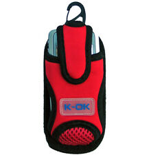 Mobile Phone Cover  Sports Bag  Pouch - RED (Large)