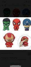 Super Hero Iron Man Spiderman Squishies Slow Rising Squeeze Stress Toys Set