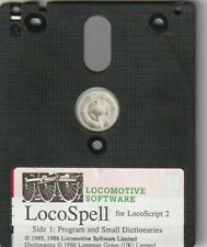 LOCOSPELL Program On 3 Inch Disc For AMSTRAD PCW Computers (For Locoscript 2)