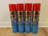 4x Nigrin Entfroster-Spray Scheibenenteiser 400ml -20°C Scheibenentfroster Spray