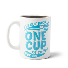 Bigmouth Inc I've Cut Back to Just One Cup XL Mug 1892ml