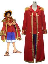ONE PIECE Monkey D. Luffy captain Anime Uniform Cosplay Costume Kostüme set Neu