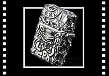 ZIPPO Pirates heavy instep both sides carving finish Rare New F/S