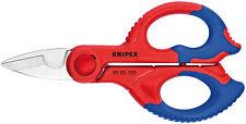 KNIPEX FORBICE ELETTRICISTA 95 05 155SB IN ACCIAIO ISOLATA PROFESSIONALE