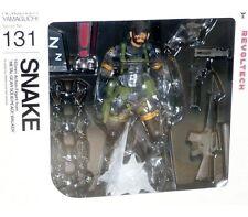 Yamaguchi Revoltech 131 Metal Gear Solid MSG Peace Walker Snake Action Figure