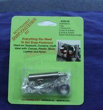 C.S. Osborne K229-20 Set It Yourself Snap Fastner Kit