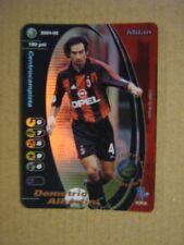 FOOTBALL CHAMPIONS 2001-2002 CARDS WIZARD PROMO FOIL - DEMETRIO ALBERTINI MILAN