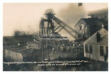 rp14371 - Welsh Pit Disaster , Senghenydd , Glamorgan , Wales - photograph 6x4