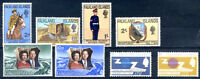 FALKLAND ISLANDS Yvert # 182/5 - 148/9 - 217/8 Complete Sets MNH VF