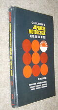 Chilton's Japanese Motorcycle Repair Tune-Up,Ritch,G,HB,1968        C