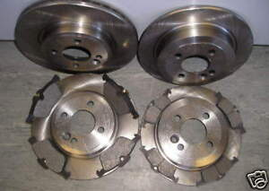MINI ONE,COOPER 1.6 FRONT AND REAR BRAKE DISCS & PADS 2001 - 2006