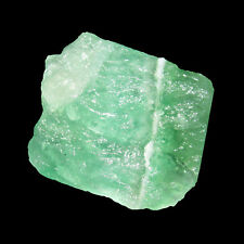Awesome 135.00Cts. Green Color Natural Rough Shaped 100% Real Fluorite -CH 6937