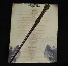 Harry Potter Wand with Spell List Amazing gift Hp