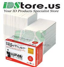 Evolis R3011 YMCKO Color Ribbon & 200 Blank White PVC Cards Bundle