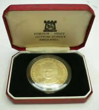 More details for queen elizabeth the queen mother one crown isle of man 1980 silver proof boxed