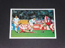 N°86 FINALE C1 1991 OLYMPIQUE MARSEILLE OM FOOTBALL PANINI 1899-1999 100 ANS