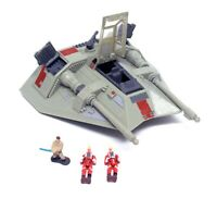 Vintage 1995 Star Wars Action Fleet Rebel Snowspeeder 2 Pilot Micro Machines
