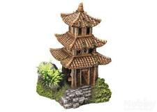 Nobby Aqua Ornaments ASIATISCHER TEMPEL mit Pflanzen 10x9x14,5cm