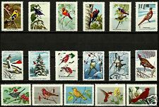 NATIONAL WILDLIFE FEDERATION STAMPS,  NORTH AMERICAN BIRDS, MNH SET