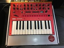 KORG Monologue Analog Monophonic Synthesizer /MONO Synth/ Red  //ARMENS//