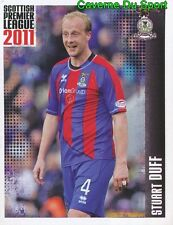 282 stuart duff inverness ct sticker scottish premier league 2011 panini