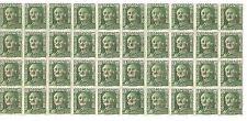 Ex Colonias Españolas. Ifni. Bloque de 40 sellos sobrecargados
