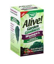 Nature's Way Alive! Garden Goodness Women's Multivitamin, Veggie & Fruit...