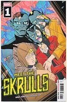 Meet The Skrulls #1 1st Warners Disney+ 2019
