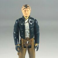 Vintage 1980 Kenner Star Wars Han Solo Bespin Hong Kong Action Figure