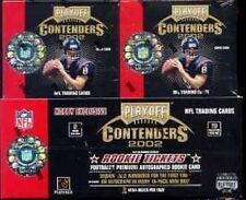 2002 Playoff Contenders NFL Football Hobby Box