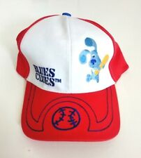 Blues Clues Nickelodeon Childs Baseball Cap Red & White Adjustable New