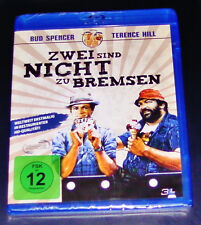 Zwei Are Not to Brakes with Bud Spencer and Terence Hill Blu Ray new OVP