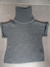 Pull gris col cheminée Taille 4 - 5 ans TEX